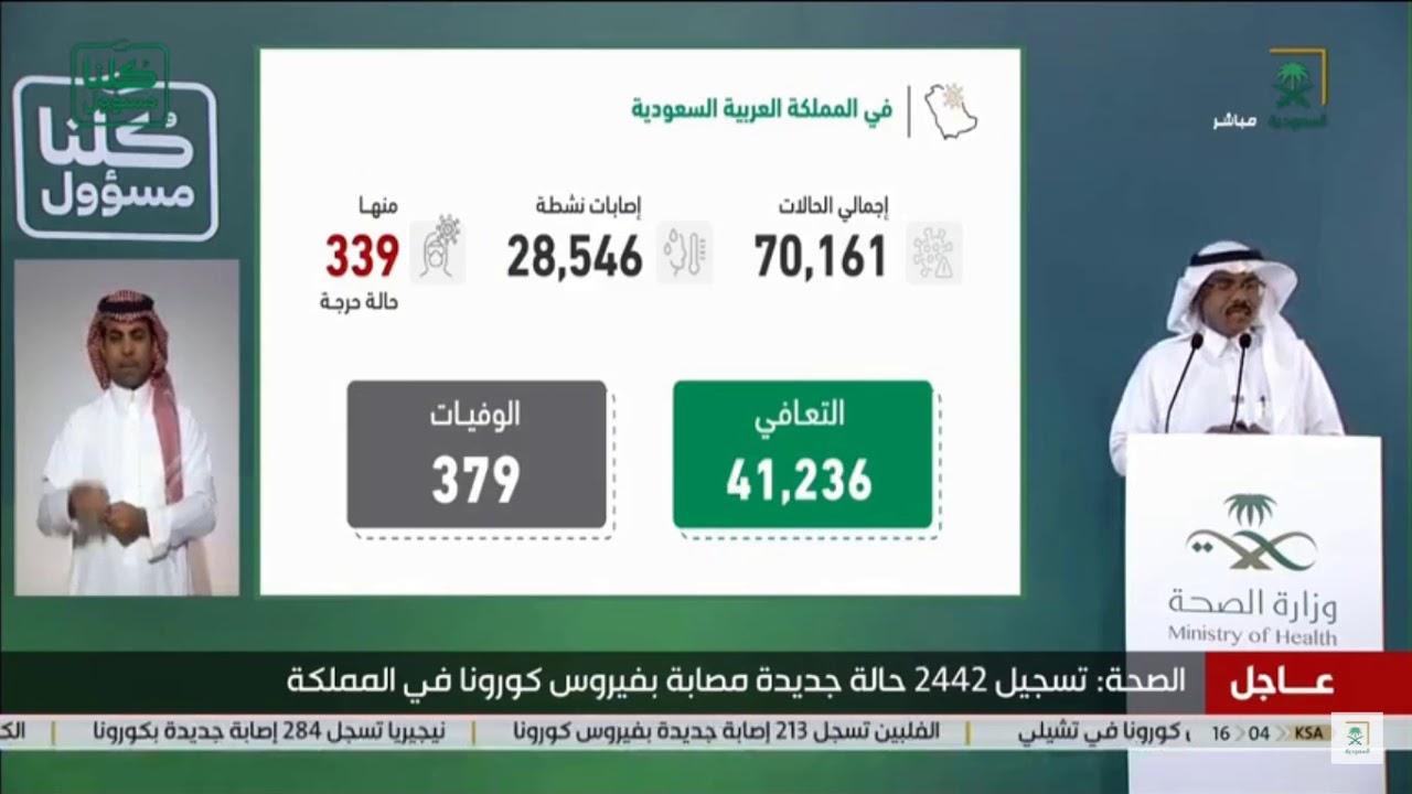 △沙特國家電視臺直播截圖