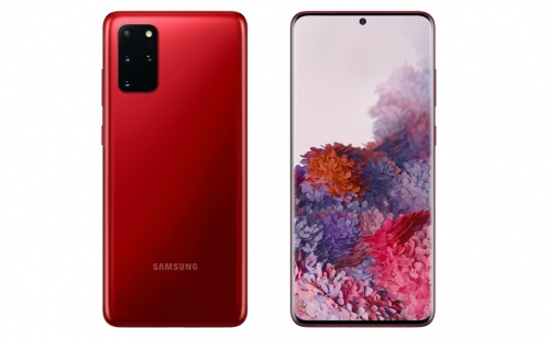 三星Galaxy S20+ 5G国行馥郁红新配色发布:售价7999元