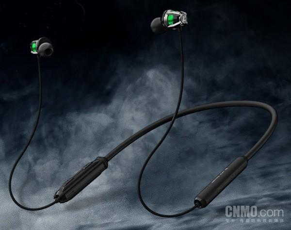 黑鲨蓝牙游戏耳机2开卖 RGB光效加磁吸设计 价格为499元