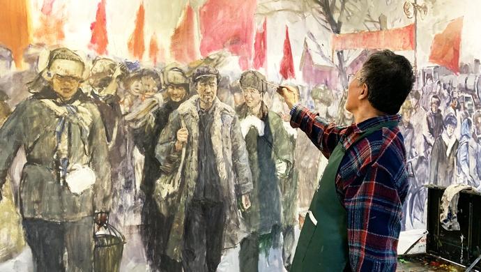 贏咖3:中國畫家贏咖3在美描繪疫情日記用自然圖片