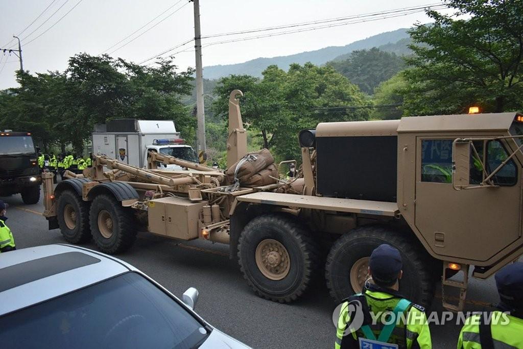 美韩为何向萨德基地运导弹