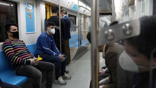 △地铁内景,图片来源:伊朗当地媒体