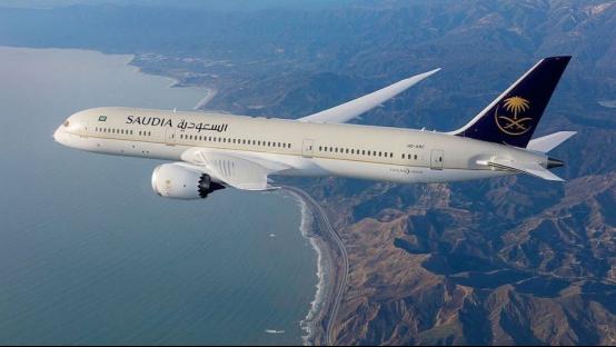 △沙特航空公司客机图片,来源:沙航官网