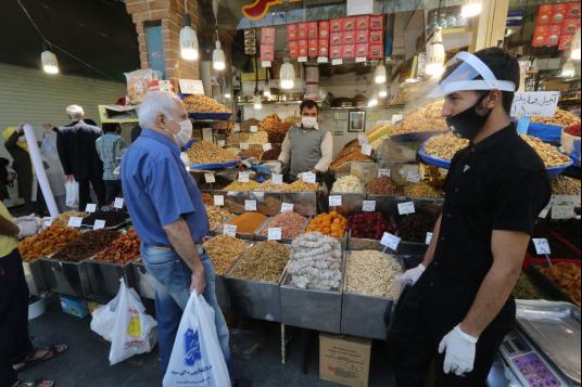 △伊朗集市,图片来源:伊朗当地媒体