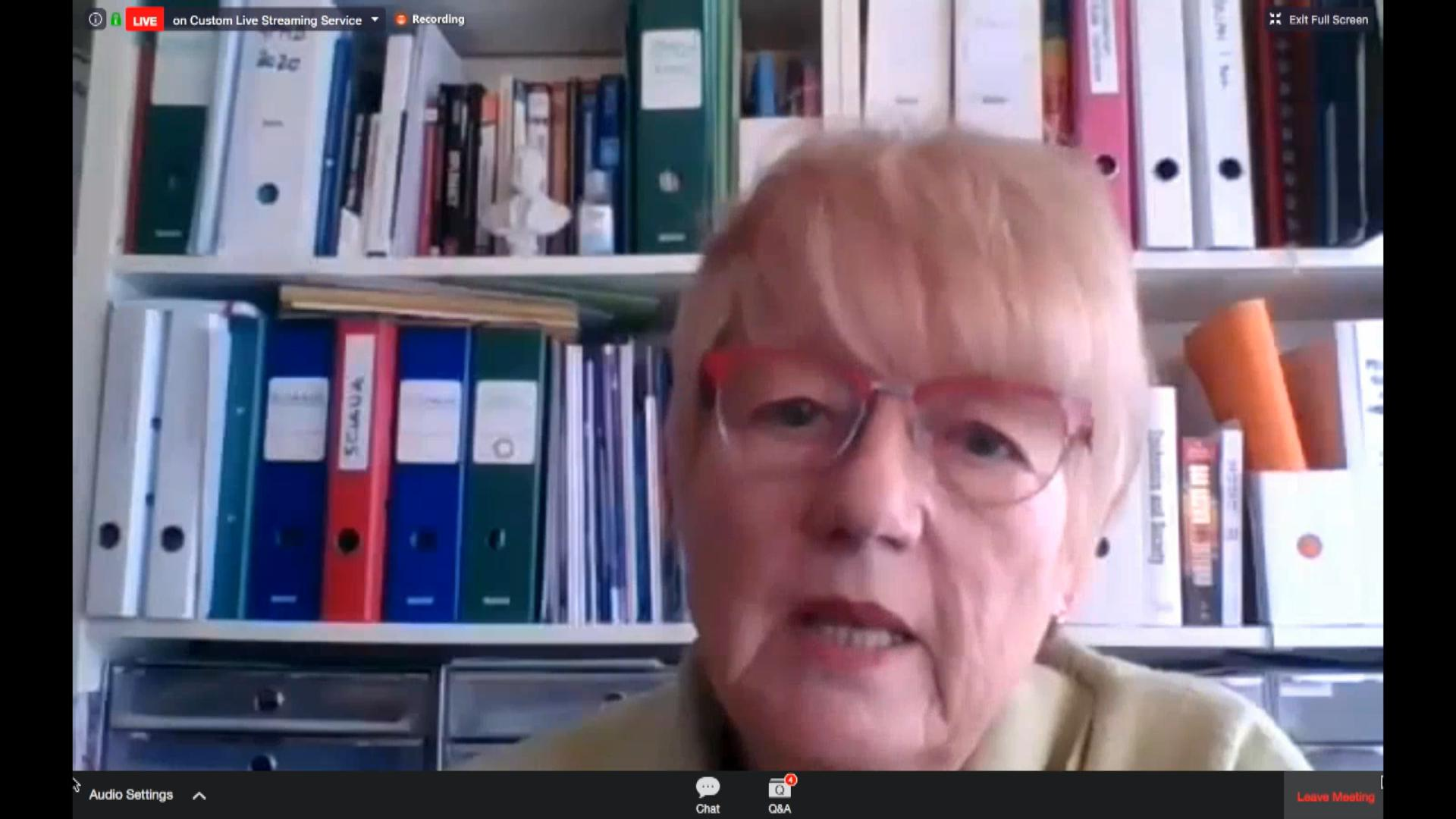 △瑞士国际与发展研究学院全球卫生中心主席伊洛娜·基克布施教授