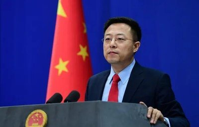 """汪文斌:台湾是中国领土不可分割的一部分 不存在所谓""""海峡中线"""""""