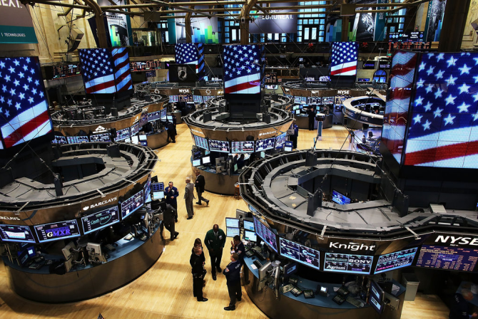 资料图:纽约证券交易所(图源:纽约时报)