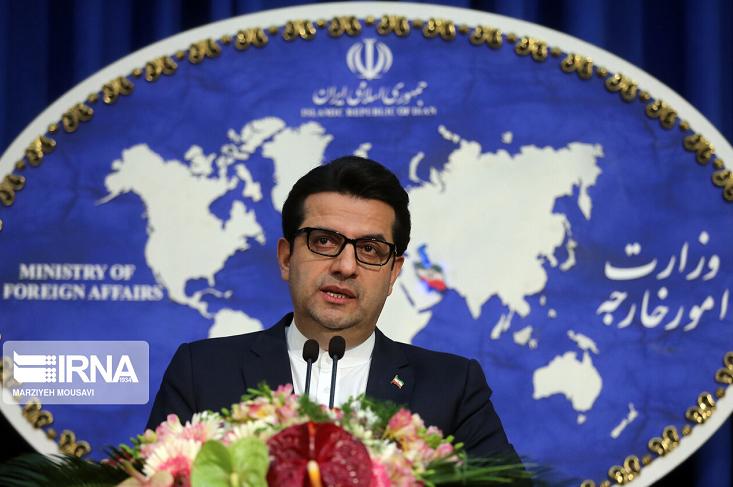 △伊朗外交部发言人阿巴斯·穆萨维(图片来源:伊通社)