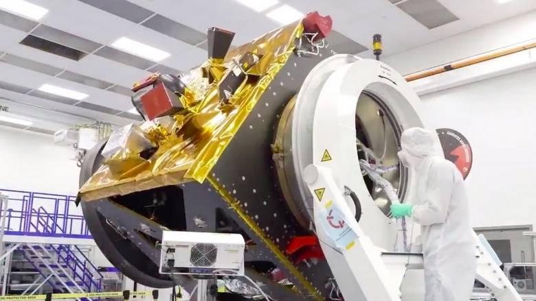 △阿联酋希望号火星探测器 来源:迪拜媒体办公室视频截图
