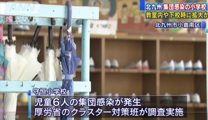 日本一小学集体感染:学生一起玩耍下学引发病毒传播