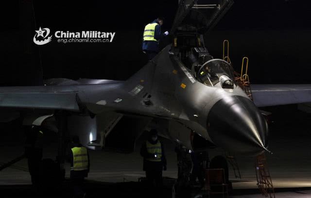原料图:东部战区航空兵某旅的歼-11B 图源:军网英文