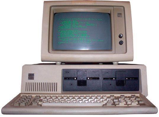 1981年发布的IBM PC