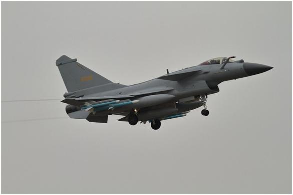 台媒:解放军战机两周内第7次现身台湾西南空域插图