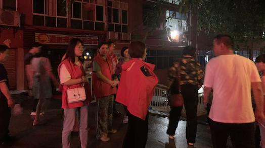 武隆城区出现江水倒灌 紧急撤离群众56户190余人插图