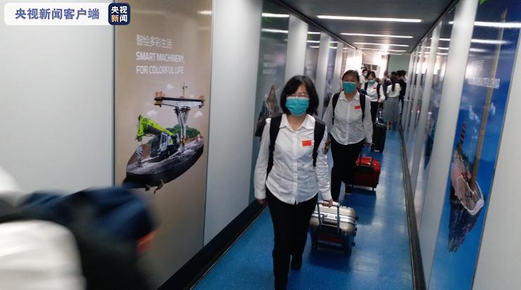 中国赴津巴布韦和赤道几内亚抗疫医疗专家组凯旋返湘插图(2)