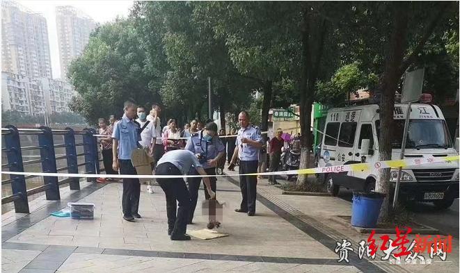 ↑民警在现场处置。