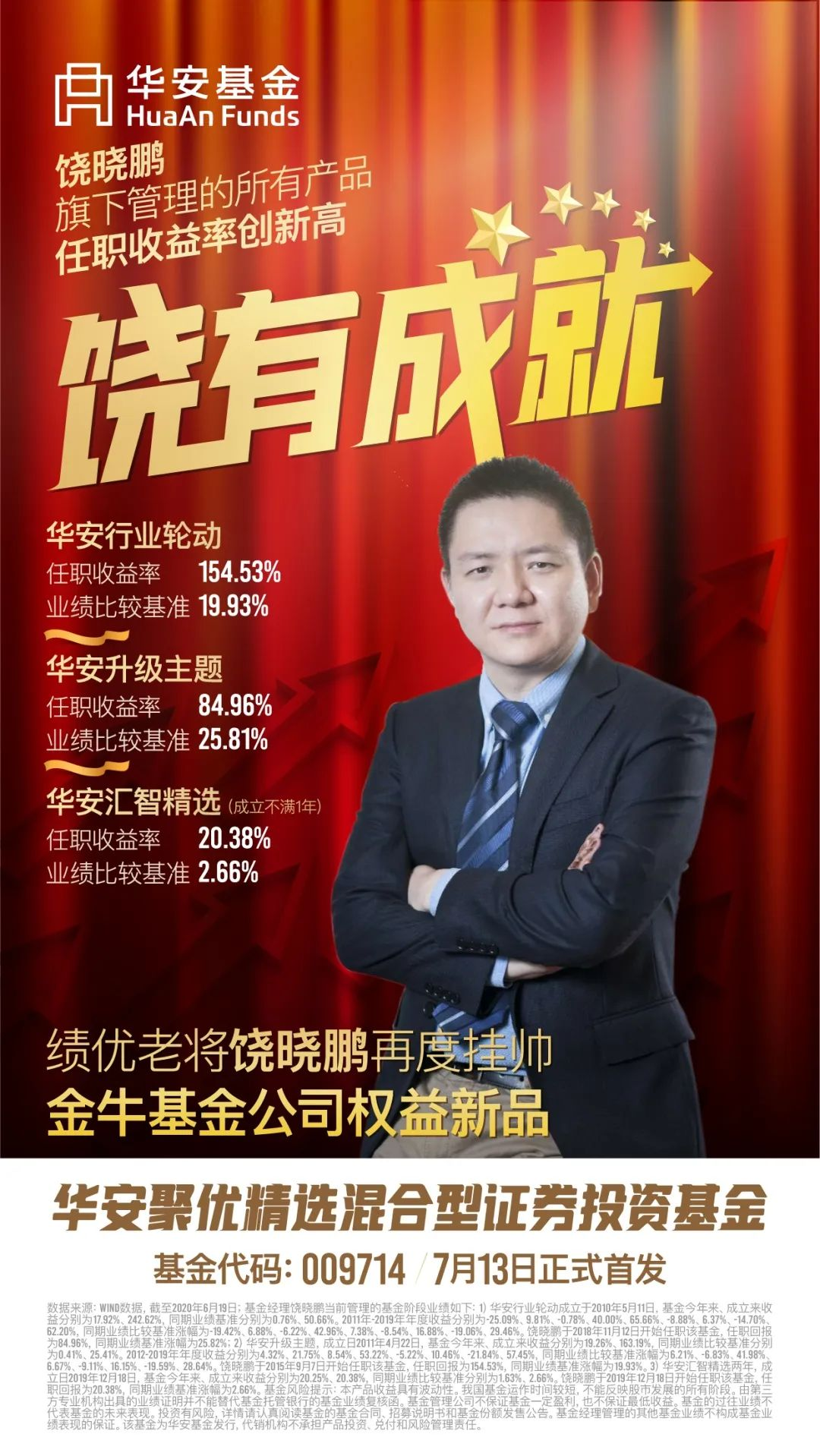 """相对于""""饶晓鹏""""这个名字,他管理的基金曝光率会高一些"""