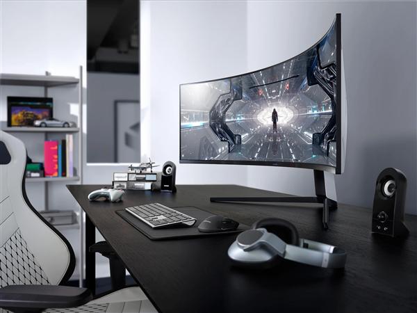 三星Odyssey G9显示器上市!49寸/5K/240Hz/1000R超高曲率