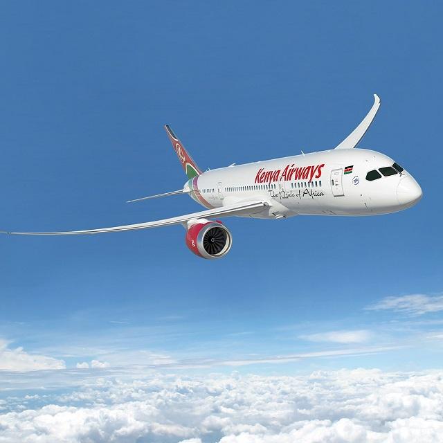 △图片来自肯尼亚航空公司官网