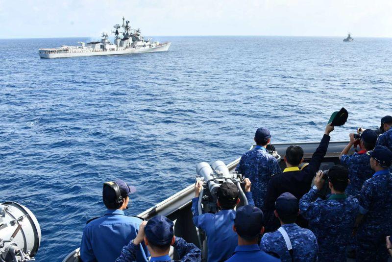 """印度和日本举行海上演练 印将军宣称是""""释放信号"""""""