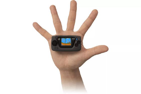 世嘉推出新掌机 Game Gear Micro