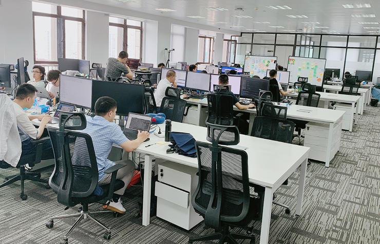 芯翌上海研发中心办公区域
