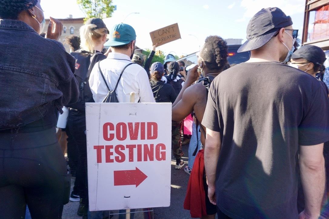 专家:受抗议活动影响 美国新冠确诊数将可能失控