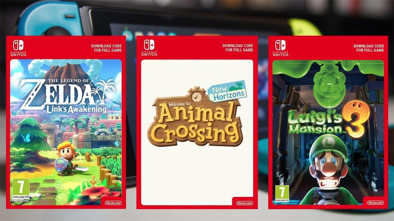 任天堂:7月1日起停止欧洲零售商出售第一方数字游戏下载码