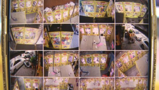 娃娃机店24幼时全方位无物化角监控(原料图)
