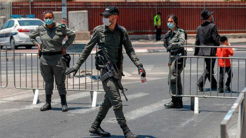 △被封锁的耶路撒冷片面街区 (图片来自网络)