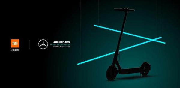 小米联手奔驰AMG推出电动滑板车:300W强力电机