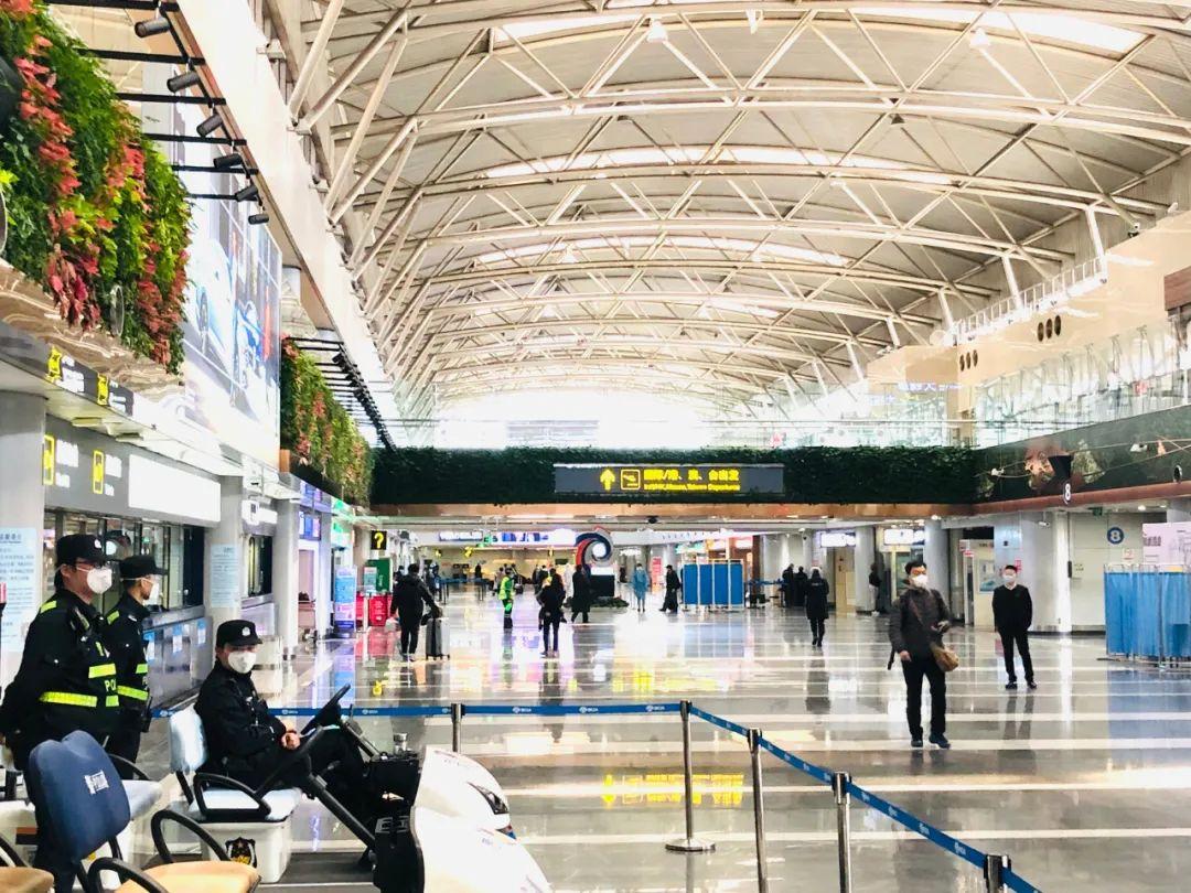 △今年3月的首都机场 | 资料图自视觉中国