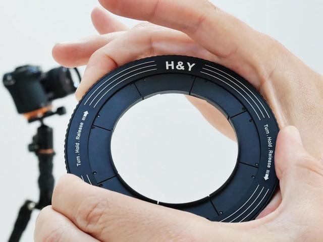 H&Y推可变滤镜转接环 滤镜换装更快捷