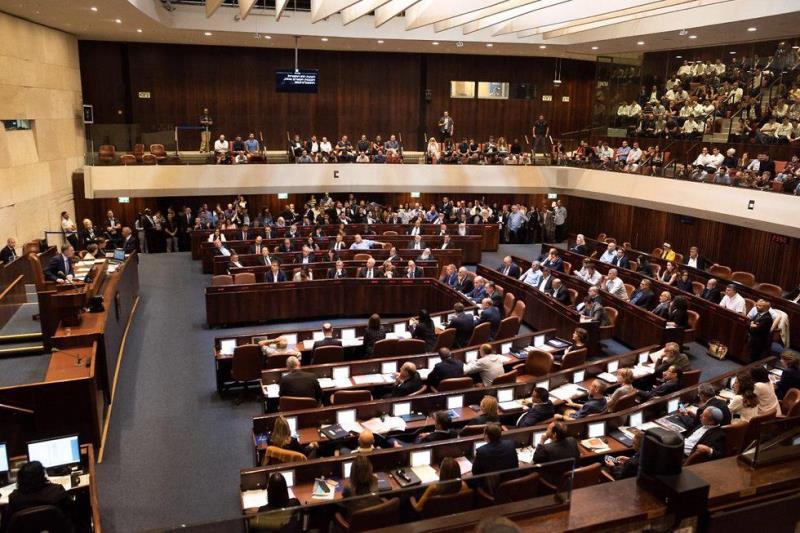 △图为以色列议会