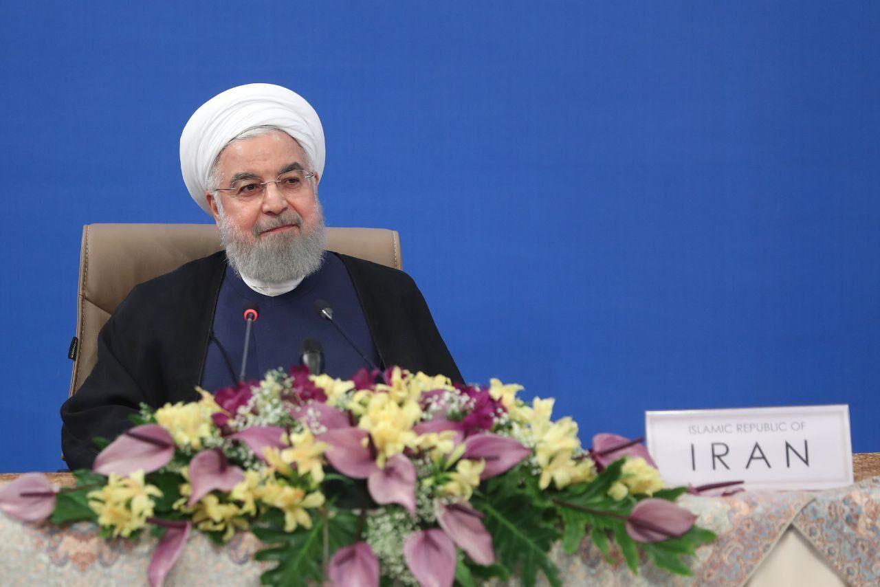 △伊朗总统鲁哈尼图片来源:伊通社