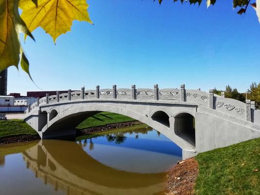 """高校师生3D打印""""赵州桥"""" 获吉尼斯世界纪录(图)"""