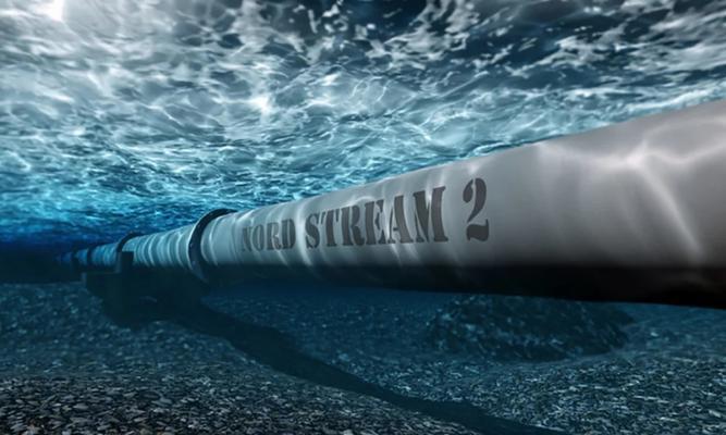 △北溪-2海底天然气管道