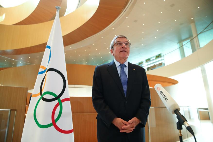 △2020东京奥运会延期一年举办 托马斯·巴赫接受采访