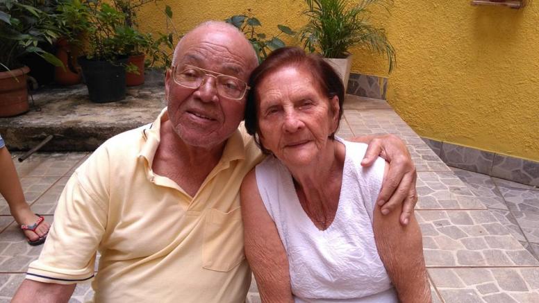 △已去世的92岁老人与其丈夫的合影图片来源:巴西环球网