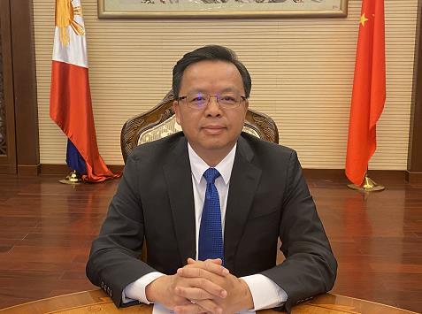 中国驻菲律宾大使:中菲应排除干扰 开创两国关系发展新天地