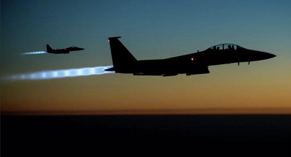 资料图:美军战机。(图源:美联社)