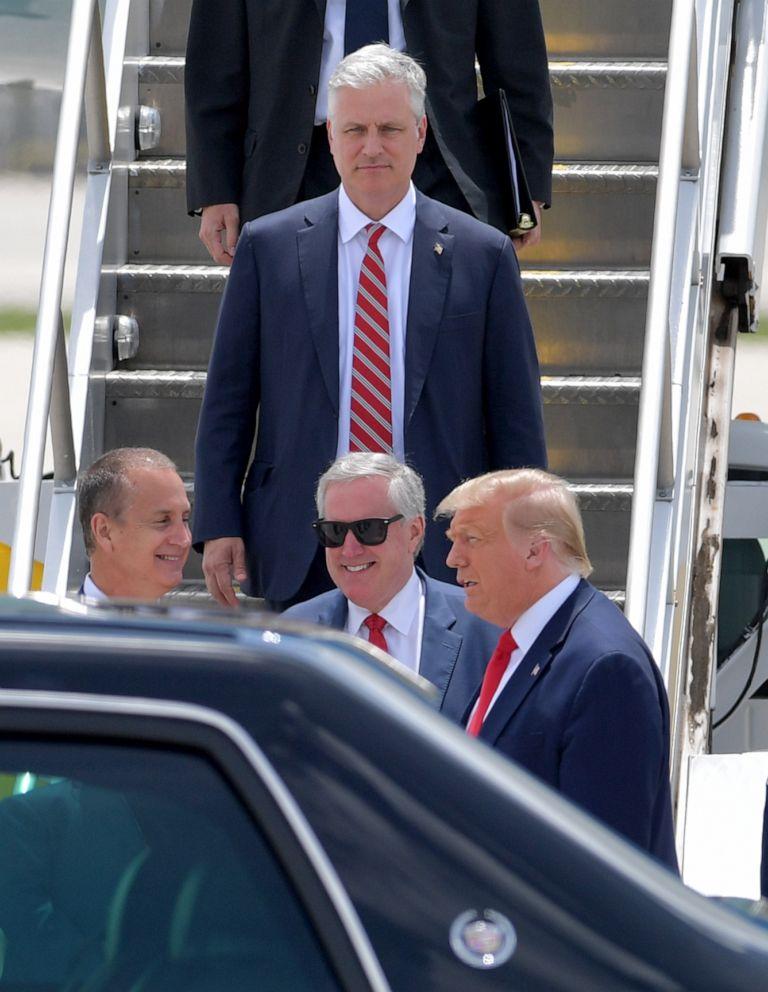 国家安全顾问感染新冠,特朗普回应:我最近没见过他