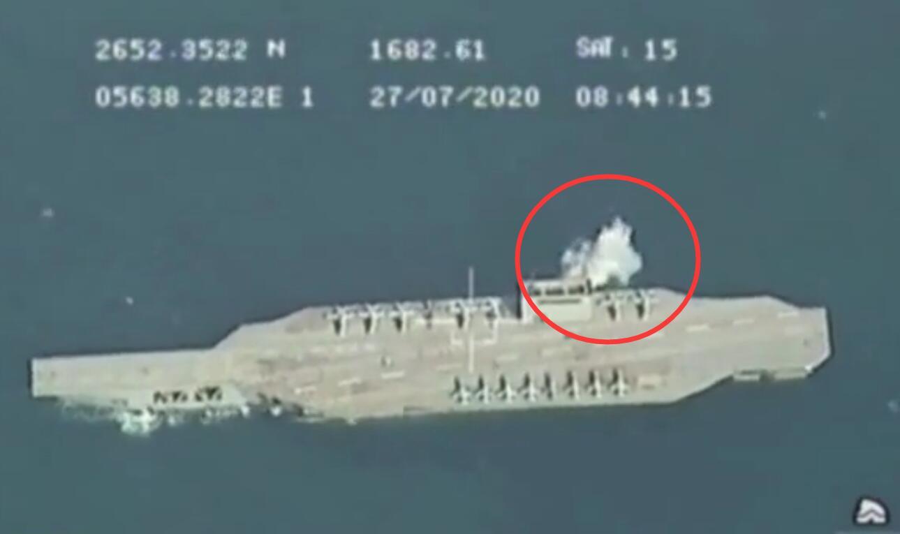 """伊朗演练攻击""""美国航母"""":特种部队索降登舰"""