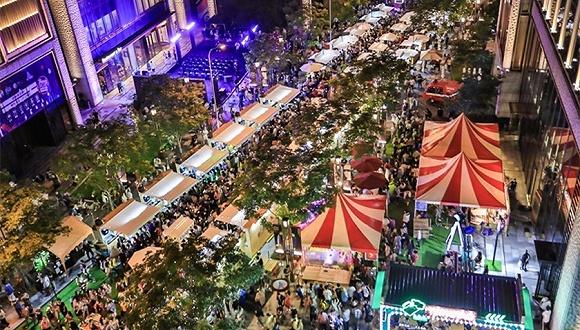 「特写」夜市烟火气里,上海商业地产加速复苏