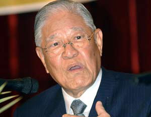 """""""台独""""教父李登辉 曾因媚日被票选为台湾的历史罪人"""