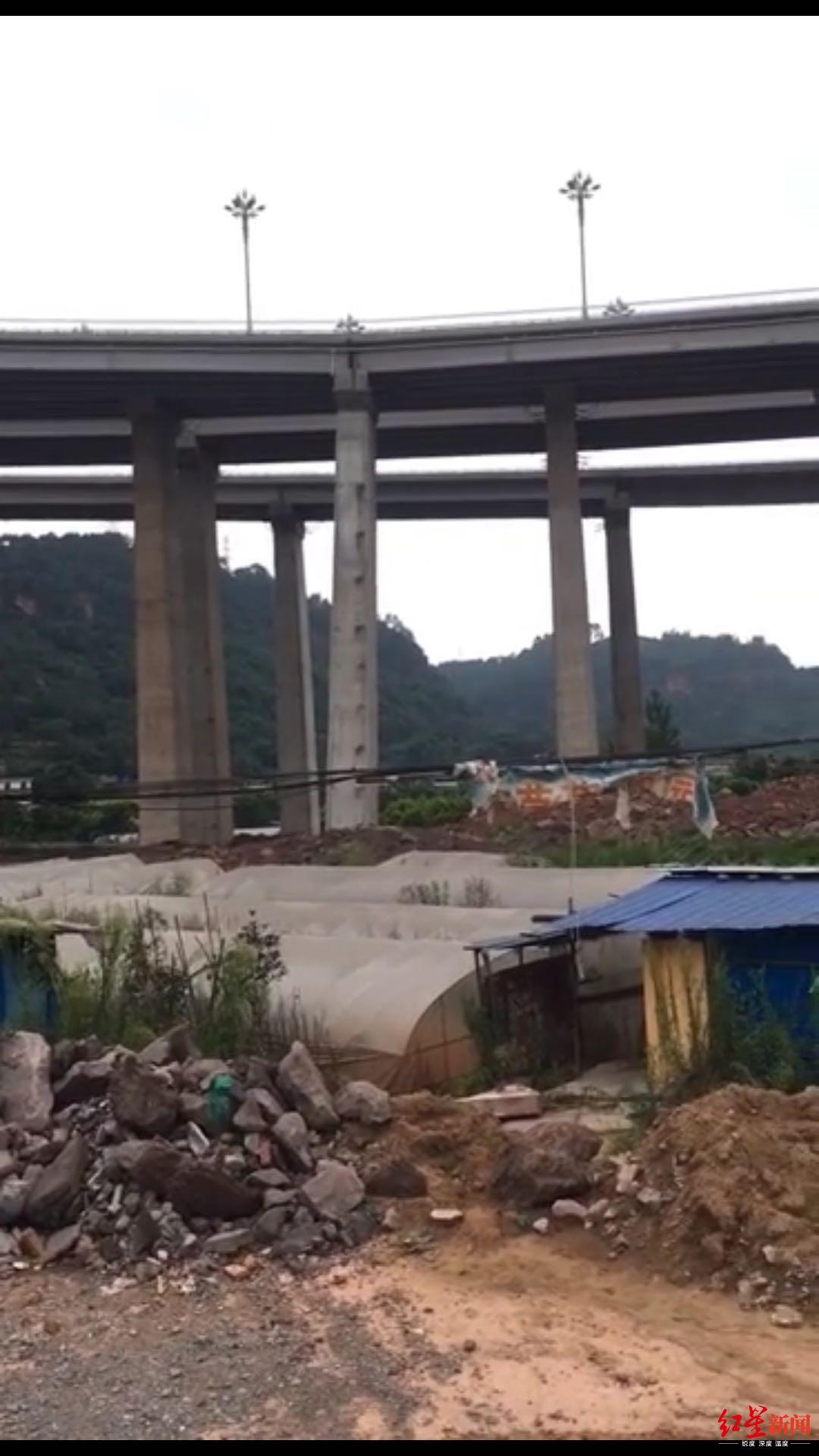 宜宾机场东连接线有桥墩倾斜?官方:全封闭管制排查