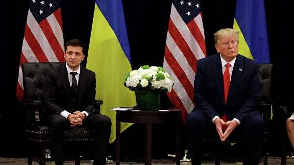 特朗普与乌克兰总统泽连斯基