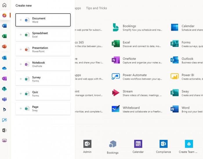 Microsoft 365 Office控制面板用户界面改版 更简洁的照片 - 5