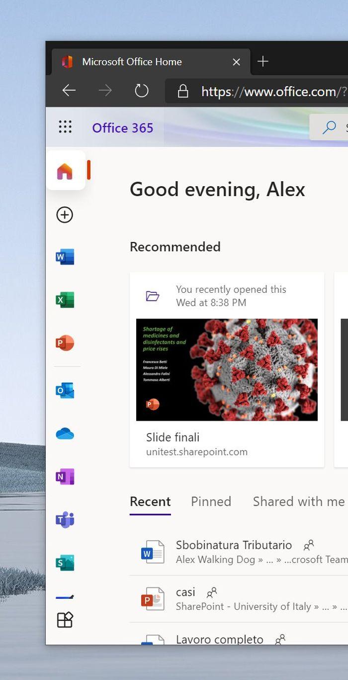 Microsoft 365 Office控制面板用户界面改版 更简洁的照片 - 7