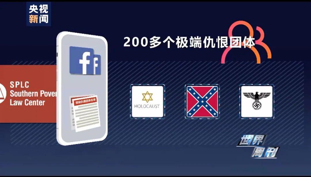 △早在去年,就有美国民权团体提交过一份活跃在脸书上的200多个极端团体清单,但脸书迄今仅对其中不到一半群组做出了封号处理。